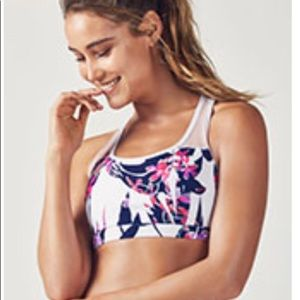 NWT Fabletics top & matching shorts.